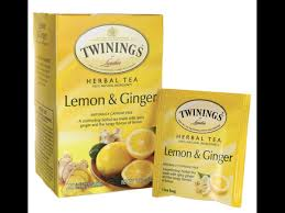 lemon and ginger tea nutrition facts