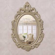 decorative mirrors resin frame bathroom