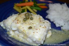 Cod with Caper-Mustard Sauce – Cook and ...