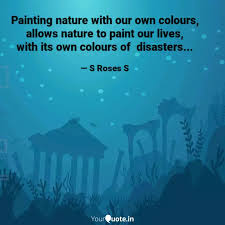 painting nature our quotes writings by sarala s