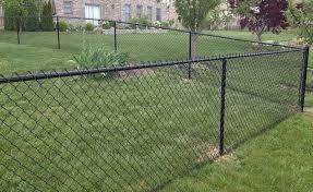 4 Ft Black Vinyl Chain Link Fence Gate Black Chain Fence Gate Link Vinyl In 2020 Black Chain Link Fence Chain Link Fence Installation Chain Link Fence Gate