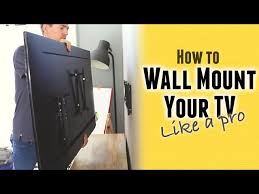 how to wall mount a tv to metal studs