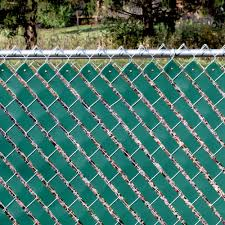 Green Fence Privacy Weave Economy Vinyl Chainlink Chain Link Fabric Hardware Kit 99713050754 Ebay
