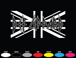 Def Leppard Rock Band Bumper Car Window Vinyl Decal Sticker Etsy