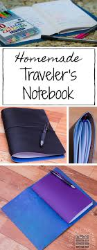 homemade traveler s notebook