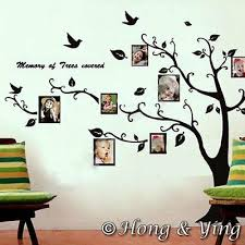 Photo Picture Tree Frame Set Ii Wall Art Stickers Vinyl Decals Mural Home Decor