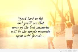 sweet memories card quote friends