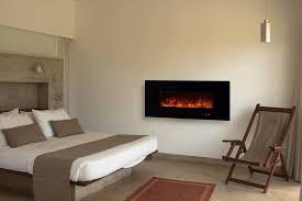 corner electric fireplace modern flames