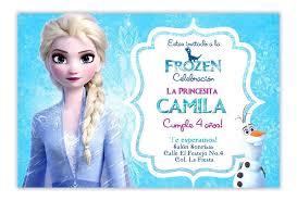 Invitacion Frozen 2 Personalizada Digital Elsa Y Olaf 65 00 En