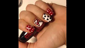 DISNEY MICKEY MOUSE NAIL ART TUTORIAL - YouTube
