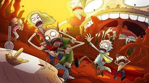 hd rick morty backgrounds 2020 cute