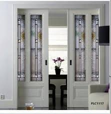 interior stained glass doors pocket