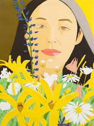 artnet - Alex Katz's portrait of wife Ada Katz exudes... | Facebook