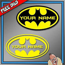 Batman Dark Knight Superhero Logo Bumper Phone Laptop Sticker As11018 Children S Bedroom Girl Decor Decals Stickers Vinyl Art Home Garden Writup Net