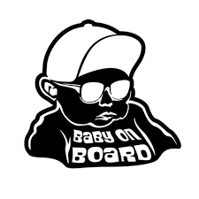 Baby On Board Funny Boy Car Decal Vinyl Sticker Archives Midweek Com