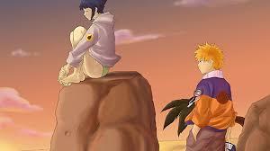 Naruto and Hinata illustration HD wallpaper