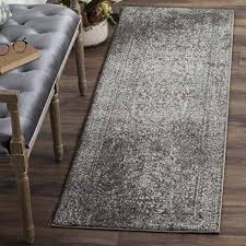 collection grey and ivory area rug