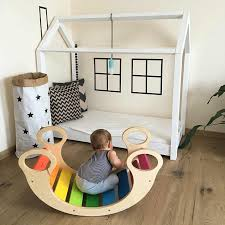 Wooden Baby Chair Toddler Seat Kids Play Gym Activity Toys Climb Stair Education Rocking Chair Baby Furniture Room Decoration Baby Seats Sofa Aliexpress