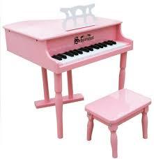 key 3 octave baby grand piano bench
