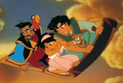 Aladdin e os 40 Ladrões (Fonte: Disney/Divulgação)