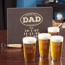 best dad personalized beer gl