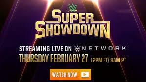 Wrestling⪻LIVE⪼WWE Super Showdown 2020 (LiveStream), Tv Channels ...