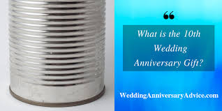 what is the 10th wedding anniversary