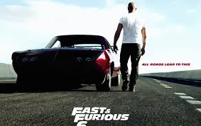 fast furious 6 poster