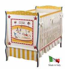 circus french panel crib by art for