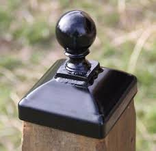 Cannonball Fence Post Cap For Dimensional 4x4 Wood Post Decorative Woof Finial Ebay