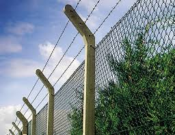 Chainlink Posts Chainlink Strained Wire Fencing Supreme Concrete