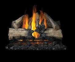 reversible propane gas vented log