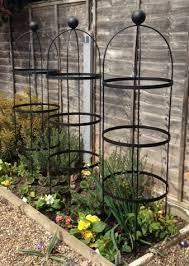 classic garden obelisks set of 3