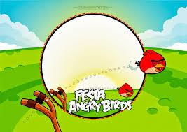 Angry Birds Invitaciones Para Imprimir Gratis Oh My Fiesta Friki