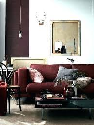 bedroom ideas gray maroon color