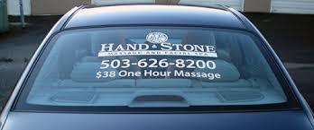 Vehicle Graphics Portland Badge Sign