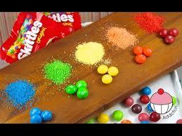 diy skittles sprinkles how to make