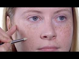 how to foundation for freckled skin