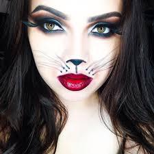 kitty cat halloween makeup ideas