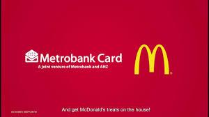 mcdonald s on the card on the house