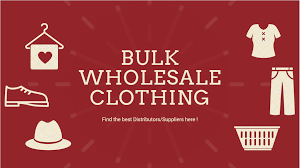 bulk whole clothing distributors