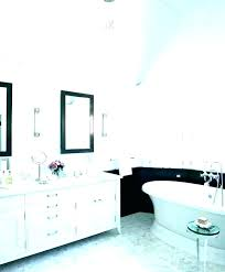 black framed mirrors for bathroom