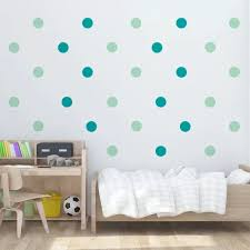 Vova Polka Dots Baby Room Kids Room Wall Stickers Children Home Decor Nursery Wall Decals Wall Stickers For Kids Room Wallpaper