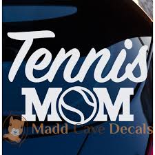 Tennis Mom Vinyl Decal