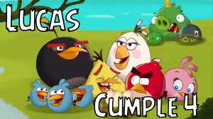 Angry Birds Video De Invitacion O Cumpleanos De Para Whatsapp O