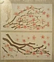 Dcwv Peel And Stick Wall Art Decals 3d Embellishments Japanese Cherry Blossoms Ebay