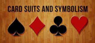 card suits and symbolism card symbols