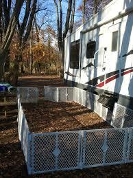Rv Dog Yard Portable Dog Fence Diy Dog Fence Dog Camping