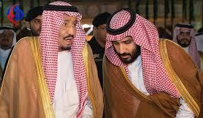 سیلی محکم پادشاه سعودی به صورت محمد بن سلمان