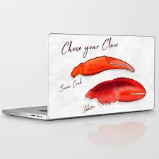 Chose your Claw, Crab vs Lobster Laptop ...